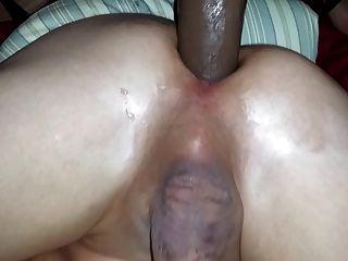 पत्नी बीबीसी dildo के साथ पति fucks
