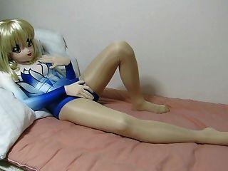 Kigurumi हस्तमैथुन 02