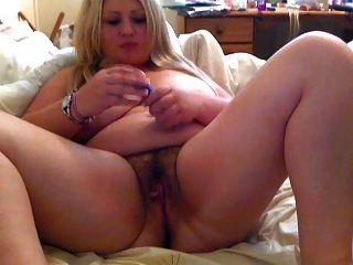 मटोल लड़की Masturbating
