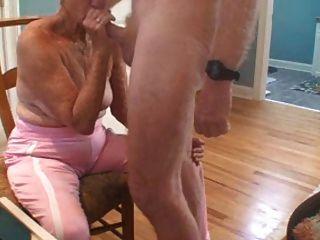 दादी सेक्स और cumshot