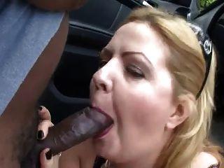 हंगरी बड़ा खूबसूरत औरत आउटडोर बकवास