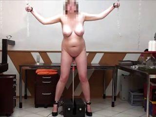 सेक्स मशीन बकवास खड़े