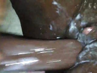 आबनूस बड़ा clit कमिंग कठिन गीला और मलाईदार