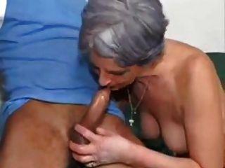 दादी पोते fucks