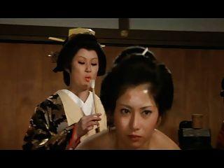 जापानी अन्त: पुर: आवारा लड़की रखैल को गधा पंख संभोग