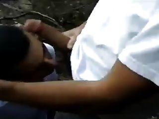 Str8 भारतीय पिताजी एक पार्क में