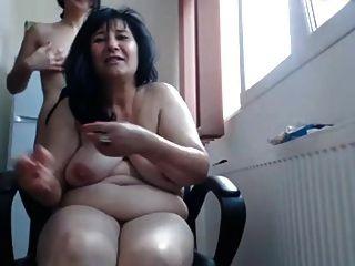 रूसी लेस्बियन माँ वेब कैमरा शो