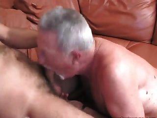 बड़े आदमी रॉयल्टी विशाल सह शॉट के साथ गड़बड़ हो जाता है!