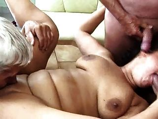 स्वादिष्ट मोटा grandpas द्वारा गड़बड़ महिला