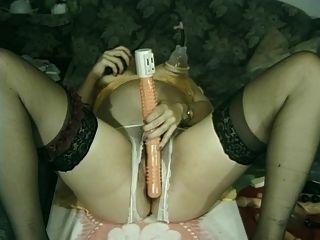 बीट्राइस - फ्रेंच गर्भवती Fisting