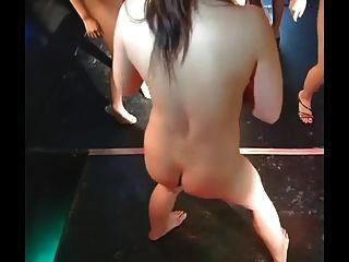 Daiya और जापान गोगो लड़कियों सुपर समूह स्ट्रिपटीज डांस मज़ा