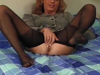crossdresser Pantyhose तंग