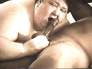 बीबीडब्ल्यू हेड # 434 बदसूरत परिपक्व मूर्ख SSBBW एक काले आदमी deepthroat