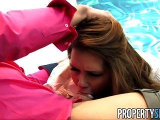propertysex - एबी पार एक शरारती रियल एस्टेट एजेंट है