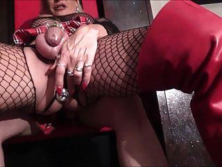 सेक्सी फूहड़ encaged
