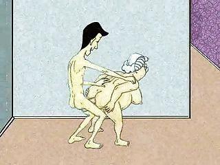 सेक्सी गुदा दादी और धार!एनीमेशन!