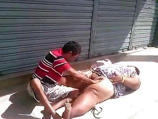 chupando एक Buceta दा Gorda कोई Meio दा रुआ