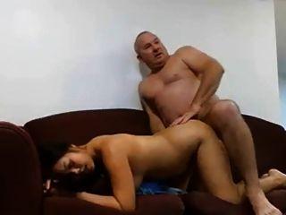 परिपक्व आदमी उसकी औरत fucks