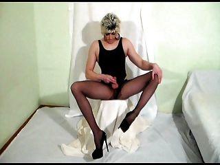 Pantyhose tranny सह - भयानक संभोग