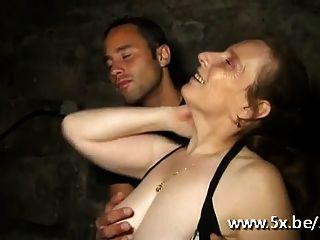 फ्रेंच परिपक्व gangbanged एलिसा