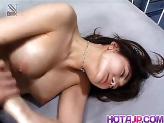kaori hojo मुंह में और बिल्ली में मजबूत लंड हो जाता है