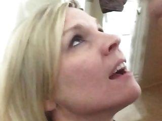 गोरा milf चेहरे 1