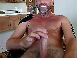 चेहरे वेबकैम पर Str8 पिताजी सह