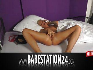 कट्टर liveshow में जर्मन शौकिया बेब (babestation24)