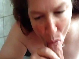 #homemademature - महाकाव्य blowjob और परिपक्व पत्नी पर सह