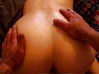बड़ा गधा पत्नी fucked