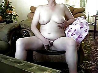 मेरे सामने परिपक्व फूहड़ masturbating