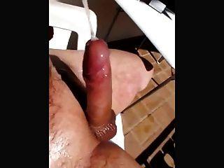 cumshot हाथ मुक्त (सुपर slomo)