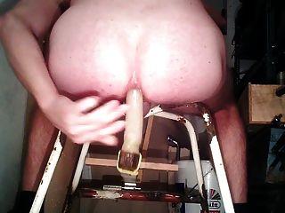 कठिन विशाल dildo और कमबख्त मशीन