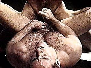 समलैंगिक मांसपेशी भालू कुश्ती