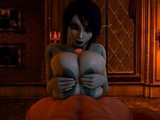 सोरिया ने अपने विशाल स्तन का उपयोग करने के लिए एक लड़के को titfuck करने के लिए उपयोग करता है
