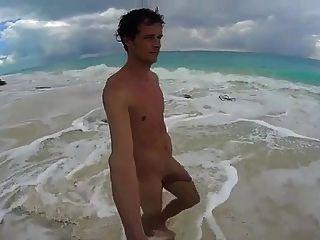 क्यूबा बीच playa में str8 पुरुषों झटका बंद