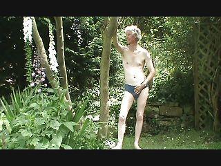 पट्टी, wank और सह में बगीचे में