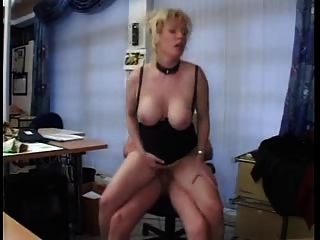 जर्मन कार्यालय 03 में fucked गड़बड़
