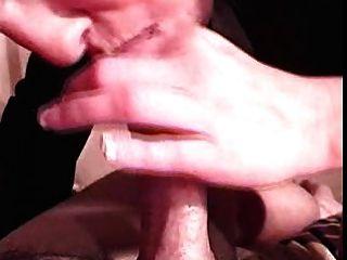 श्यामला मुंह में सह के साथ कुछ बहुत अच्छा सिर देता है