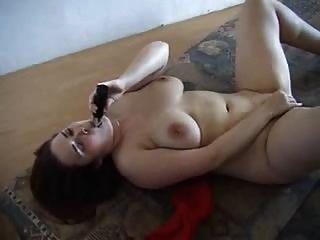 गलफुला शौकिया रेड इंडियन हस्तमैथुन और कमबख्त