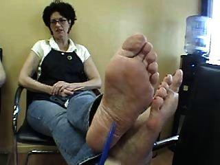 परिपक्व क्लर्क पैर