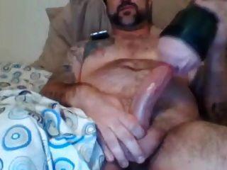str8 daddy मांस और लड़की के साथ कैम पर खेलना