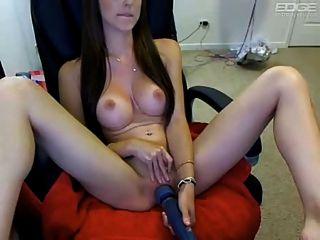 हिटचाई के साथ खरगोश स्तन वेब कैमरा लड़की