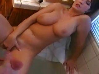 हस्तमैथुन और एक साथ cuming