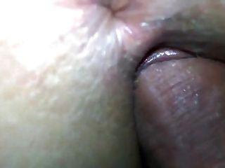 गधा closeup पर cumshot