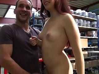 खूबसूरत nympho rousse प्यार सेक्स गुदा