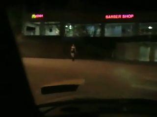मोटा एक कार में झटका नौकरी उठाया