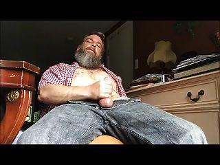 अपने कमरे में str8 भालू डेडी स्ट्रोक