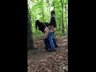 गर्म बकवास # 205 जंगल में एक विश्वासघाती पत्नी के साथ (कौगर)