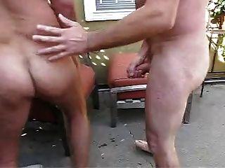 एक बगीचे में डैडीज़ बकवास
